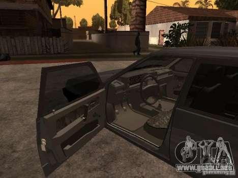 VAZ 21093 para GTA San Andreas vista posterior izquierda