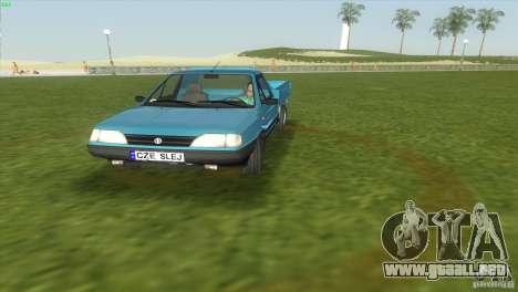 FSO Polonez Truck para GTA Vice City visión correcta