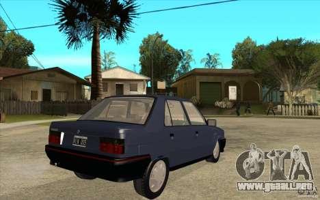Renault 9 Mod 92 TXE para la visión correcta GTA San Andreas