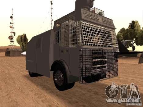 Un cañón de agua policía Rosenbauer v2 para GTA San Andreas