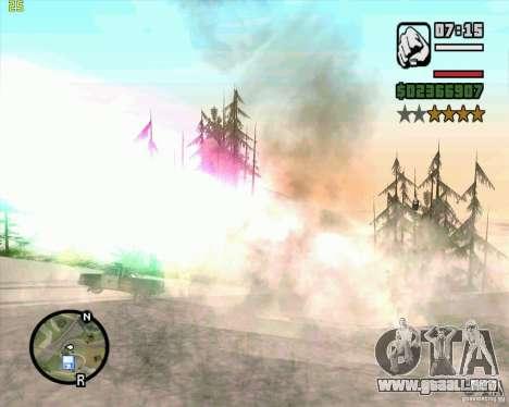 Masterspark para GTA San Andreas sexta pantalla