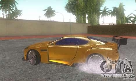 Aston Martin DB9 MW para la visión correcta GTA San Andreas