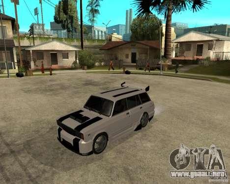VAZ 2104 duro ajuste para GTA San Andreas
