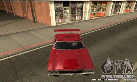 Sabre Drift para visión interna GTA San Andreas