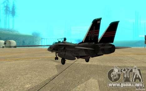 F-14A Screaming Eagles VF-51 para la visión correcta GTA San Andreas