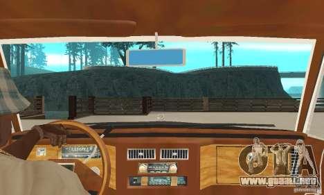 Cadillac Coupe DeVille 1985 para la visión correcta GTA San Andreas