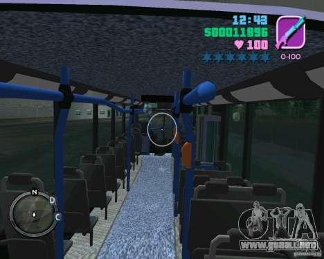 Marcopolo Bus para GTA Vice City vista lateral