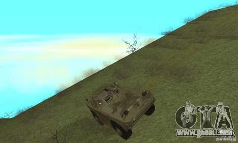 BRDM-1 piel 3 para GTA San Andreas