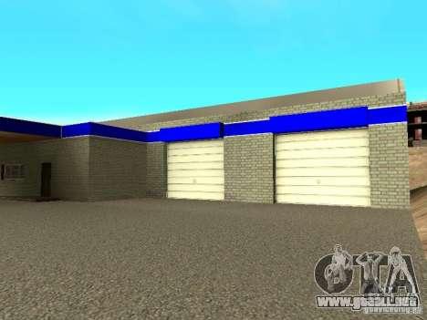 Garaje en San Fierro para GTA San Andreas sucesivamente de pantalla