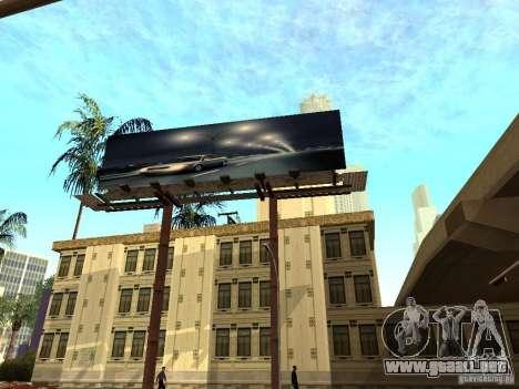 Nuevo centro de texturas Los Santos para GTA San Andreas sexta pantalla