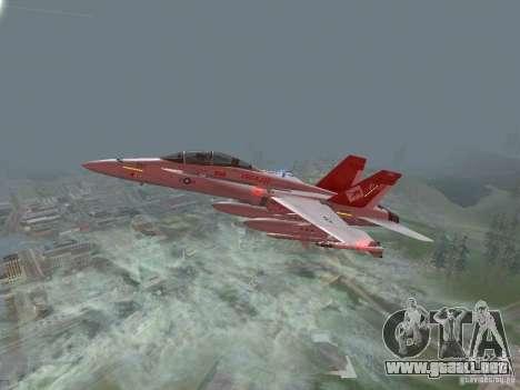 FA-18D Hornet para GTA San Andreas
