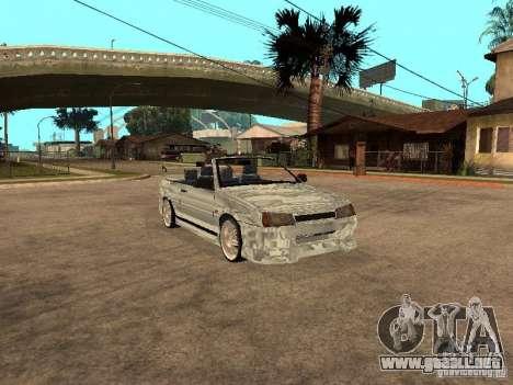 VAZ 2108 Convertible para GTA San Andreas