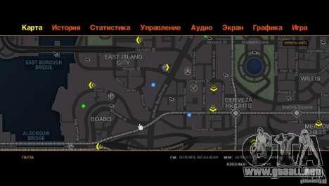 CG4 Radar Map para GTA 4 novena de pantalla