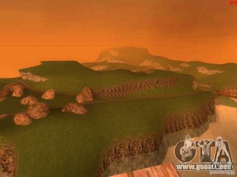 Without the desert para GTA San Andreas sexta pantalla