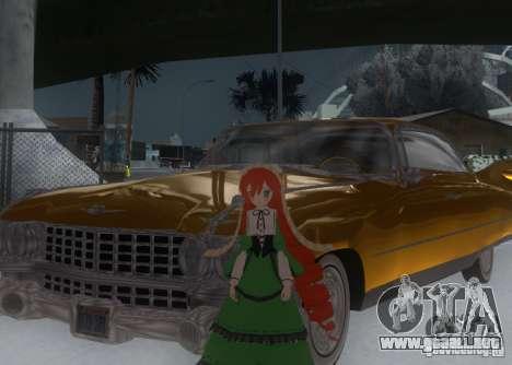 Anime Characters para GTA San Andreas