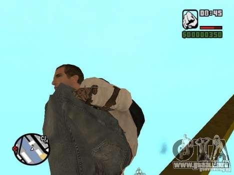 Desmond Miles para GTA San Andreas décimo de pantalla
