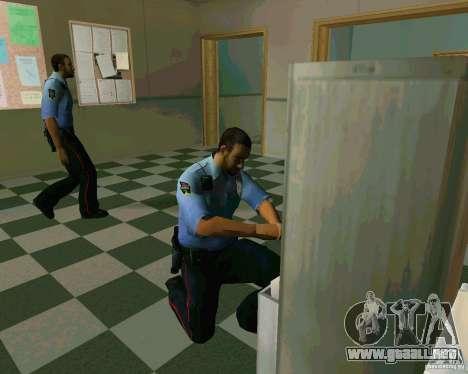 Azeri Polis para GTA San Andreas segunda pantalla