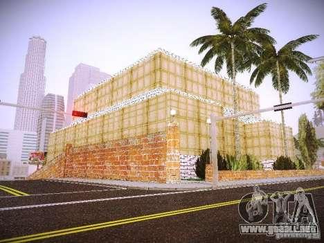 El nuevo hospital de Los Santos para GTA San Andreas octavo de pantalla