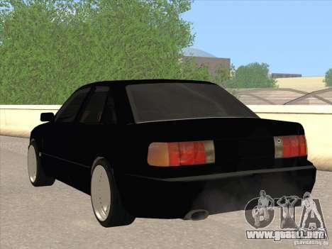 Audi 100 para GTA San Andreas vista posterior izquierda