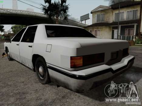 New Elegant para GTA San Andreas left