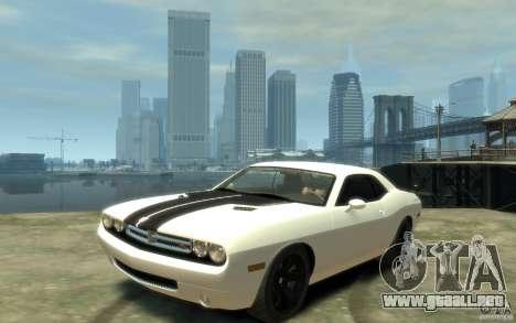Dodge Challenger Concept para GTA 4