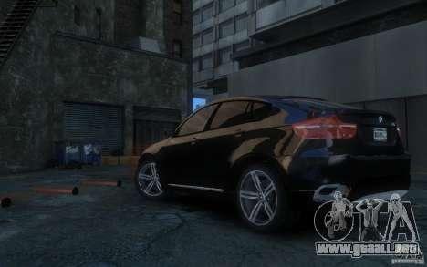 BMW X6 para GTA 4 left