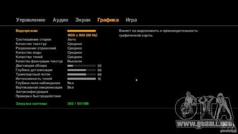 Crack para GTA 4 adelante de pantalla