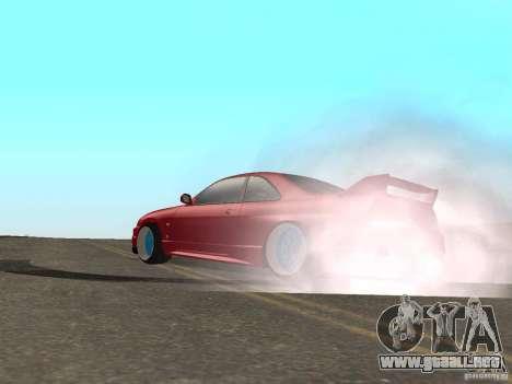 Nuevas texturas agua y humo para GTA San Andreas sucesivamente de pantalla