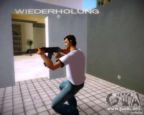 AK-47 para GTA Vice City tercera pantalla