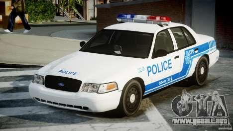 Ford Crown Victoria CVPI-V4.4M [ELS] para GTA 4