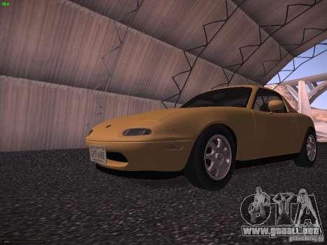 Mazda MX-5 1997 para GTA San Andreas left