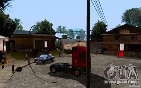 Mercedes-Benz Actros Lukoil para la visión correcta GTA San Andreas