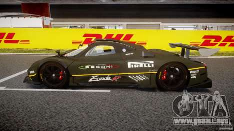 Pagani Zonda R 2009 para GTA 4 left