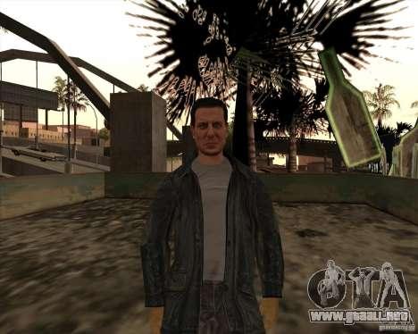 Estrías blancas para GTA San Andreas tercera pantalla