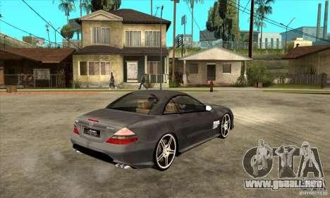 Mercedes-Benz SL65 AMG 2010 para la visión correcta GTA San Andreas