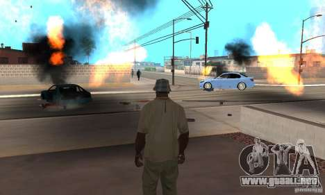 Hot adrenaline effects v1.0 para GTA San Andreas novena de pantalla