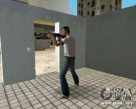 AK-47 con un grenade launcher М203 para GTA Vice City tercera pantalla