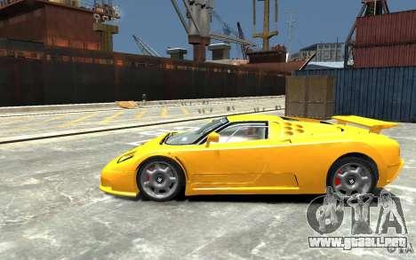 Bugatti EB110 Super Sport para GTA 4 left