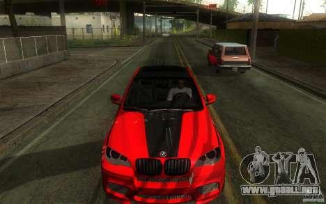 Bmw X6 M Lumma Tuning para visión interna GTA San Andreas