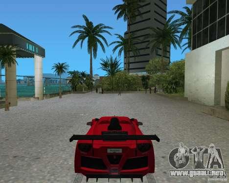 Gumpert Apollo Sport para GTA Vice City vista lateral izquierdo
