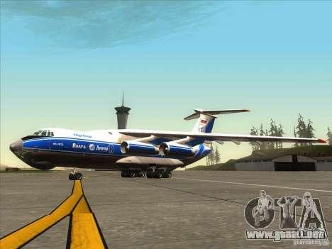 Aeroflot IL de 76 m para GTA San Andreas
