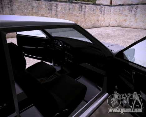 Lada Samara 2113 para GTA San Andreas vista hacia atrás