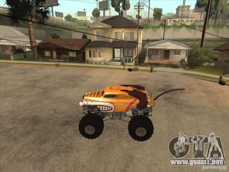 Monster Mutt para GTA San Andreas left