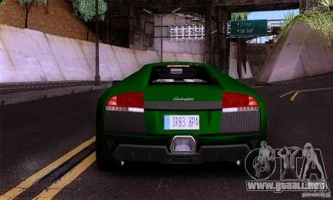 Lamborghini Murcielago LP640 para la visión correcta GTA San Andreas