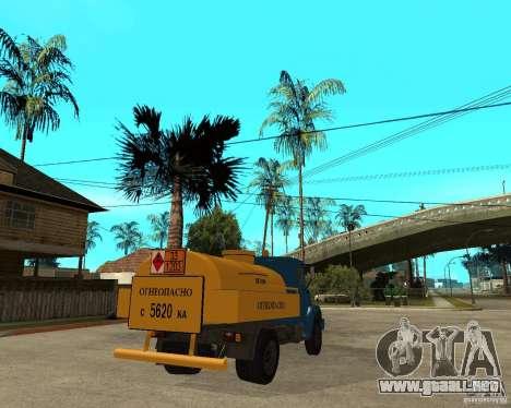 ZIL-433362 Extra Pack 2 para visión interna GTA San Andreas