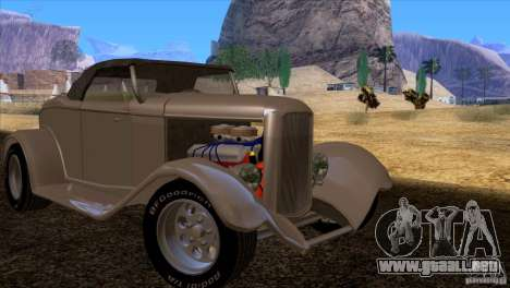 Ford Roadster 1932 para GTA San Andreas interior