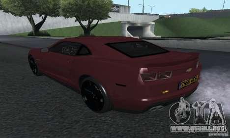 Chevrolet Camaro ZL1 2012 para GTA San Andreas left