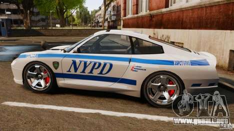 Comet Police para GTA 4 left