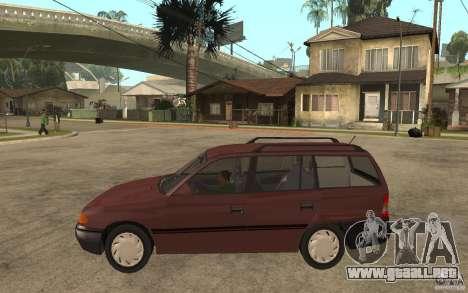 Opel Astra SW 1.6 1994 para GTA San Andreas left