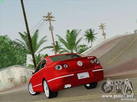 Volkswagen Magotan 2011 para GTA San Andreas left